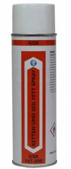 Chains and rope grease spray 500 ml