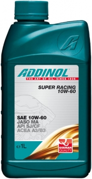 ADDINOL Super Racing 10W-60  1 Liter